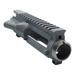 AR-15 Stripped Upper Receiver (GREY) - Made in U.S.A
