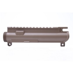 AR-15 Stripped Upper Receiver FDE (CERAKOTE COATING) - Made in U.S.A