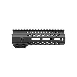 AR-15 M-LOK Super Slim Free Float Handguard with Accessory Rails and Steel Barrel Nut-7""