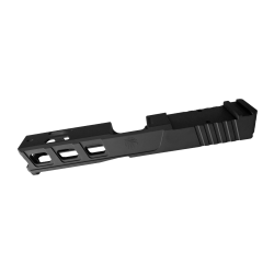 Glock 19 Custom Slides with Trijicon RMR cut out - BLACK (Made in USA)