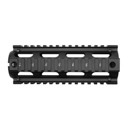 AR-15  M4 Quad Rail Hand Guard Oval Ports