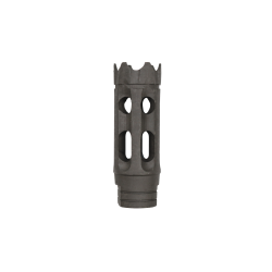 AR 15 1/2X28 Steel 10 holes Custom Muzzle Brake