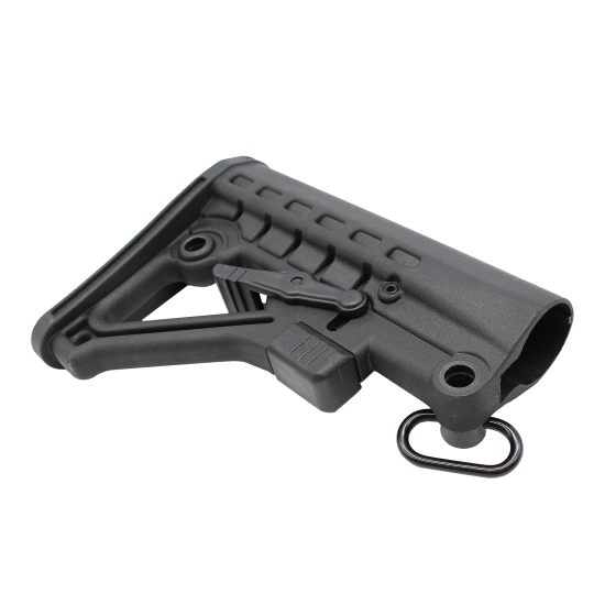 AR Mil Spec 6 Position Butt Stock With QD Attachment Sling Swivel
