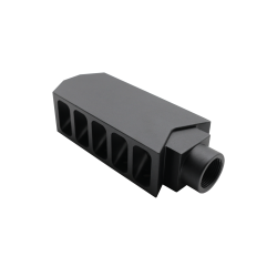 AR-10 .308 Extended Tanker Style Muzzle Brake / Compensator