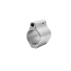 Low-Profile Micro Steel AR Gas Block .750 -Stainless Steel