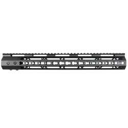 AR-15 15'' Ultra Slim Keymod Handguard W/ Steel Barrel Nut