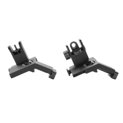 AR-15 Flip Up 45 Degree Front and Rear Sight