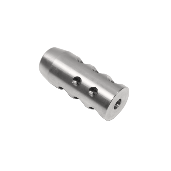 AR-15 Stainless Steel Competition Brake 2 top ports