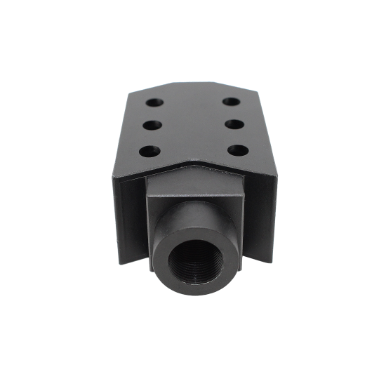 AR-15 Tactical Muzzle Brake Recoil Compensator 1/2x28 Thread with Jam Nut