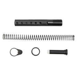 COMMERCIAL SPEC BUFFER TUBE KIT Spring Castle Lock Nut End Plate