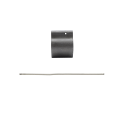 Low-Profile Micro Steel AR Gas Block.750 + Stainless Steel Gas Tube - Carbine Length