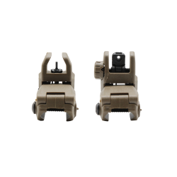 New Design Back-Up Front and Rear Sights Combo Sets - Flat Dark Earth