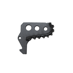 Oversize Skeleton Charging Handle Latch 08- BLACK