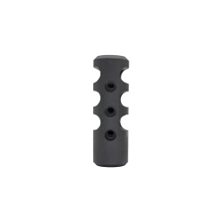 AR-10 Stainless Steel Competition Cylinder Muzzle Brake - Black
