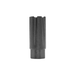 """AR-15 6 Ports Low Concussion Muzzle Brake Compensator For 1/2""""x28 Pitch TPI Knurled"""