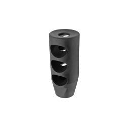 AR15 .223 TPI Competition Compact Muzzle Brake for 1/2x28 Pitch with Crush Washer
